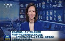 坚持中国特色社会主义政治发展道路 为实现中华民族伟大复兴筑牢民主基石